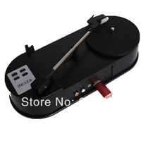 EzCAP New USB Turntable Record Player 33RPM Vinyl turntable LP Audio Recorder Player Save MP3 to USB Flash MP3 Player,No need PC