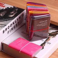 Mini card case large capacity 32 place card ultra-thin bank card bag kabao women's card packing clip