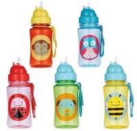 High Quality 100% tritan baby cups baby cartoon water bottle children Straw Bottle BPA FREE NO PVC NO Phthalate sports bottle