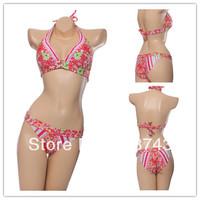 Best Feedback Hot Sale   Women's   Sexy Push Up   Swimwear Swimsuit  Bikini Sets  Beachwear FB161