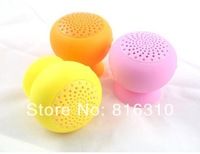 Mushroom Bluetooth Speakers for Smartphone Support Answer Calling TF Card Waterproof Silicone Portable Audio Player Bluetooth