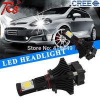 Brightest Car White CREE LED Headlight 3600LM 50W 9005 LED Headlight Bulb good quality