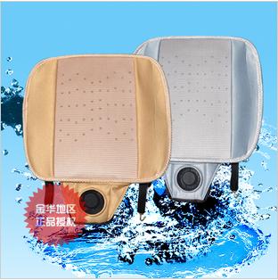 2014 Car Styling Real Sale Car Seat Cover 12v Cushion Air Conditioning Viscose Massage Blower Summer Cool Refreshing Aeration(China (Mainland))