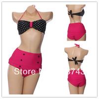 Best Feedback Hot Sale    Women's   Sexy Push Up   Swimwear Swimsuit  Bikini Sets  Beachwear skirt  FB169