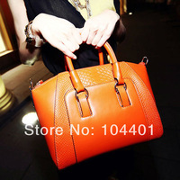 2014 New women handbag crocodile pattern shoulder bags women messenger handbags leather bags totes GA6008