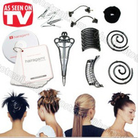 Free Shipping The total hair makeover kit Barbara Styling Accessories Headwear tool For Women