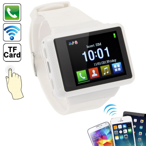 Brand New Top Quality ZF03 1.77 inch Touch Screen Smart Watch Mobile Phone with JAVA Bluetooth MP3 GPRS GSM Network(China (Mainland))