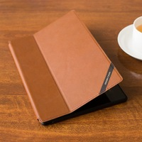 tablet newest design brown leather Case For Sony Xperia Tablet Z2 Handmade Leather Stand Smart Cover e-book  Protective Shell