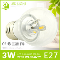 Hot Sale 3w E27 Dimmable LED bulbs for Protecting Eyeshield Energy Saving Light Bubble Ball Free Shipping + 5 pieces/lot