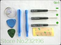 100set (900pcs) open mobile phone repair tool set screwdriver + pry tool 9in1 Hand Tools