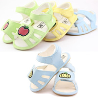 New Arrival 2014 Baby Kids Girl Nonslip Shoes Toddlers First Walkers Summer Sandals Flat Children Enfant Chaussure Rubber 0242