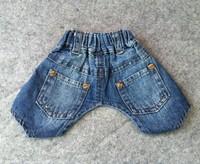 Pet Clothes Summer Fashion Cool Dog Jeans For Poodle Bichon