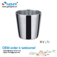 2014 double wall stainless steel water cup for hotel