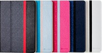 iKare Suny Bee series Luxury leather case cover for Samsung Galaxy Tab4 10.1 T530 200pcs/lot retail packing free shipping