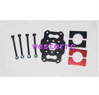 4/6/8 brushless motor shaft seat multi-axis motor mounting plate with pipe clamps T680