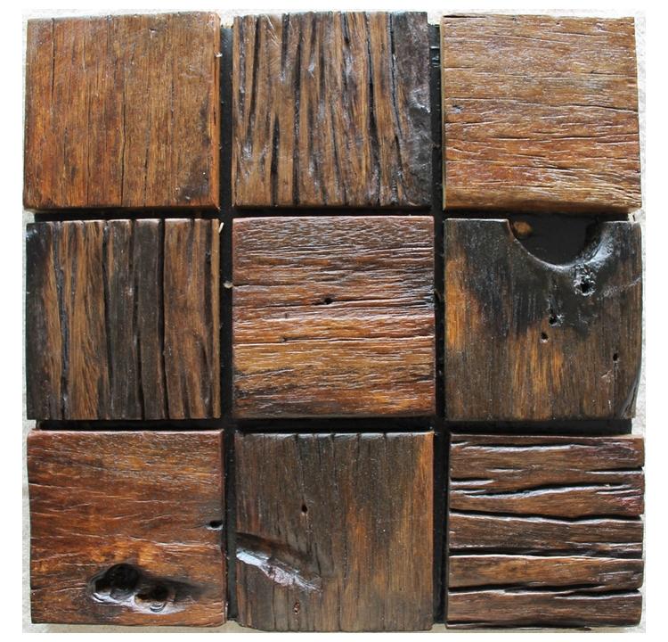 Rustieke tegels mozau00efekpatroon, natuurlijk hout textuur houten tegels ...