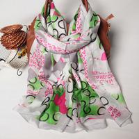102060 2014 Newest Women's brand Georgette Satin scarf, 100% Silk scarves, rectangle silk scarf, Free Shipping,  Muslim Hijab