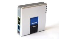 Free shipping Unlocked Linksys PAP2T VoIP Phone Adapter voip sip internet phone adapte PAP2T NA without Retail box