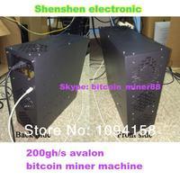 Wholesale - 200GH/S Bitcoin miner Avalon bitcoin miner 200GH/s Avalon Miner 55nm ASIC Bitcoin miner 200gh/s