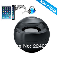 beautiful Portable Round ball Bluetooth speaker Support the TF card and mobile phone answering functions.free shipping