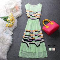 Free shipping+ L y one-piece dress elastic waist  slim fashion sexy fairy low-high