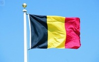 Free Shipping 10pcs/lot The national flag90 * 150cm Polyester flag Belgium flag