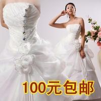 2014 new Korean diamond princess wedding dress