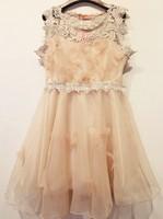 Juniors clothing 2014 women's banquet party pqtry formal dress sweet princess elegant one-piece dresses