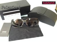 2014 men's classic fashion new business polarized sunglasses 033 high quality designer metal brand polarized sunglasses for men