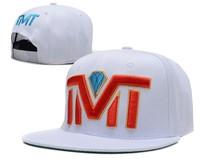 New Hot  TMT Courtside The Money Team Snapback hats  white black blue cheap mens women  djustable sports cap freeshiping  !