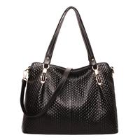 Crocodile women's handbag genuine leather 2014 trend big bag handbag messenger bag f189001