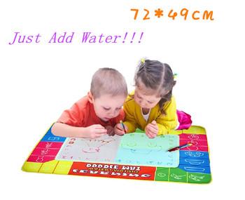 Kids Drawing Toy 72X49cm Детский 4 Цветs Magic Water Doodle Mat with 1 Magic Pen/ ...