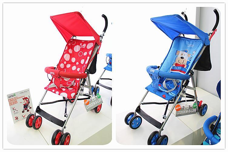 Hananel dharmakara baby crong stroller umbrella car ld202em ld216em light folding(China (Mainland))