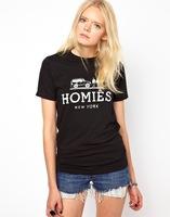 Fashion homies short-sleeve T-shirt lovers design t-shirt personalized t-shirt