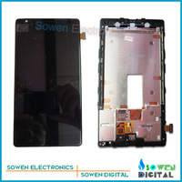 LCD display screen with touch screen digitizer with frame assembly full set for Nokia lumia 1520,Original new,free shipping