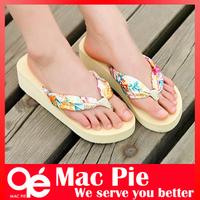2014 summer fashion sexy flip flops sandal slippers flip platform bohemia beach Muffin Slope with female drag women sandals