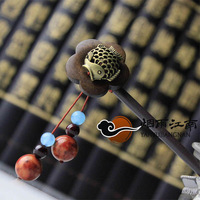 Classic fish hairpin hair stick bohemia tassel hair maker