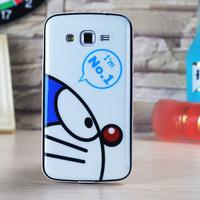 High Quality Brand SGP Neo Hybrid Bumblebee Mickey Cartoon Case Cover for Samsung Galaxy Grand 2 G7102 G7106 G7108 TPU+PC Frame