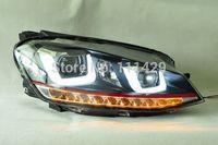 Golf mk7 LED headlamp bi-xenon projector with LED DRL