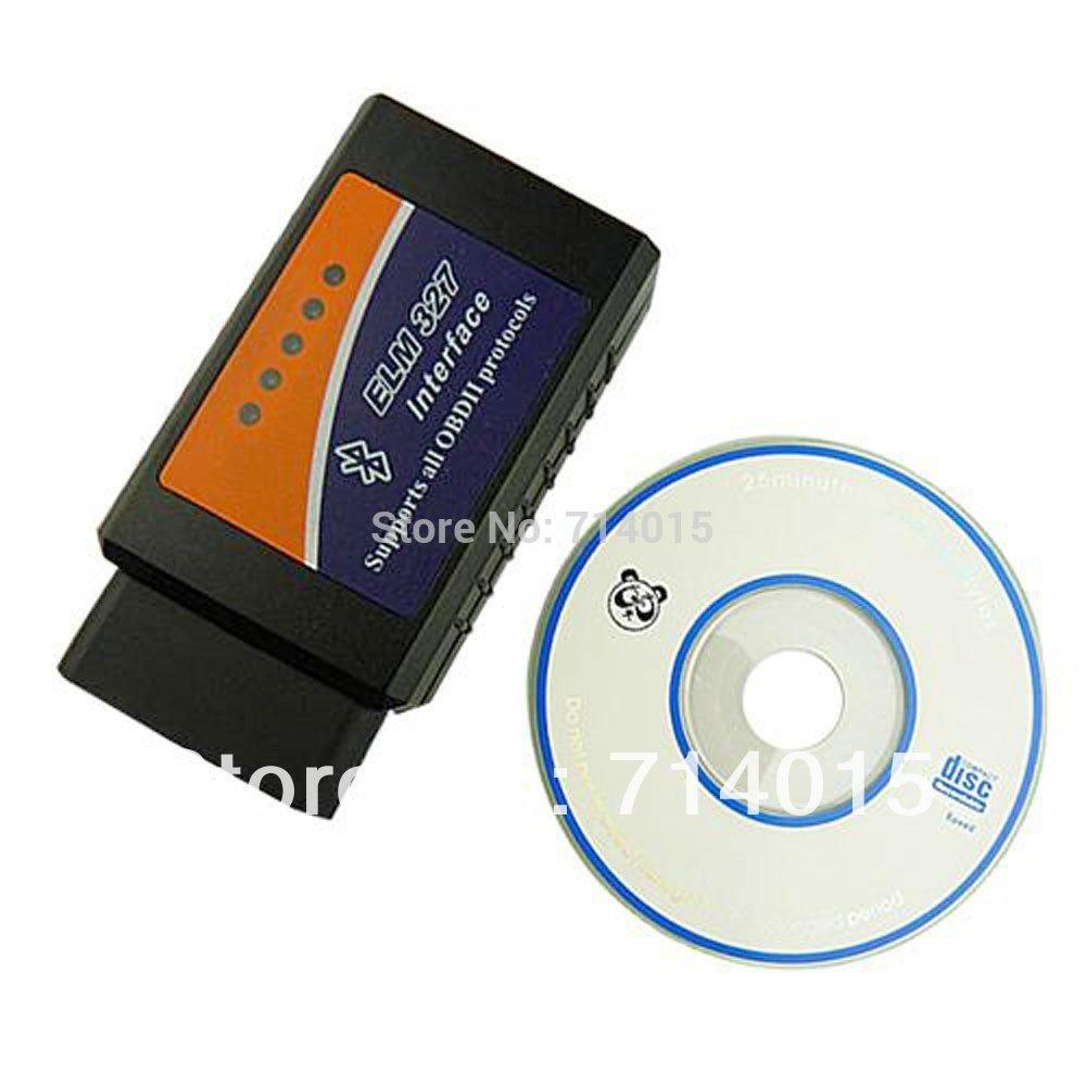 Version V1.5 ELM327 OBDII OBD2 Bluetooth Car Diagnostic Interface Scanner