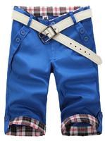 2014 Free Shipping Summer Men's M/L/XL/XXL Fashion Casual Shorts Mid waist Straight type Beach Board Short Male breeches For Men