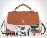 new arrival 2014 hot sale fashion money bag Shoulder Messenger Bag Blue Pony good quality handbag for women