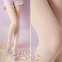 Princess sweet lolita Bobon21 spring and summer woven pattern cutout vertical stripe stockings pantyhose ac0990
