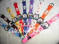 Silicone Pink Cute Frozen Watch Cartoon 3D Cartoon Children Kids Girls Quartz Watches Lovely Gift, Free &Drop Shipping 10pcs/lot