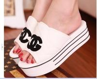 2014 Women's Sandals Mules summer beach slippers women sandals women flat shoes free shipping