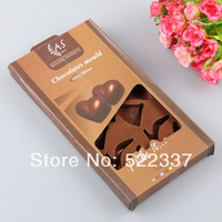 Free shipping-Guaranteed 100%  Food grade Gift box 15 hole silicone chocolate Tool mould,Ice cube tray Wholesale SC-11