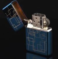 Dream blue windproof lighter