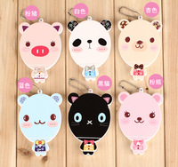 Free shipping!10 pcs new fashion mirror Pocket cosmetic mirror,South Korean cartoon small mirror