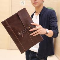 bag men document  envelope day clutch vintage briefcase bags