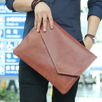 handbag bag men    solid color  envelope  day clutch vintage paper  briefcase clutch bags handbags